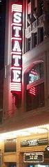 State Theatre neon sign