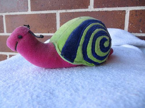 plush snail