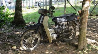 Motorbike in Borneo