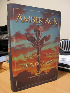 Book cover of Amberjack by Terry Dowling