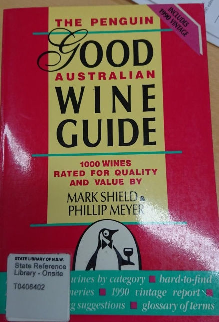 Cover of 1990 Penguin Wine Guide